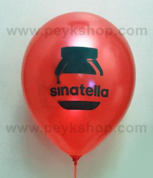 چاپ بادکنک مکزیکی گرد قرمز براق - سیناتلا