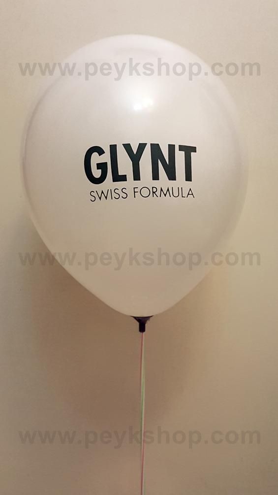 چاپ بادکنک چینی گرد مات - Glynt