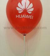 چاپ بادکنک تبلیغاتی چینی گرد براق - هوآوی HUAWEI