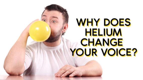 چرا گاز هلیوم صدا را تغییر میدهد
